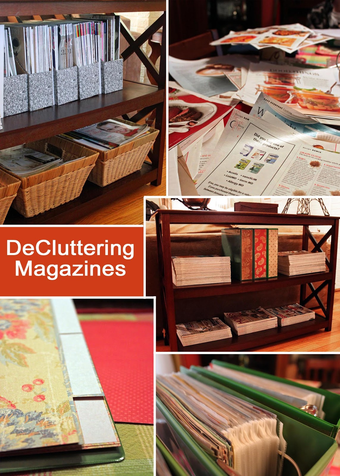 How to Organize Magazines advise
