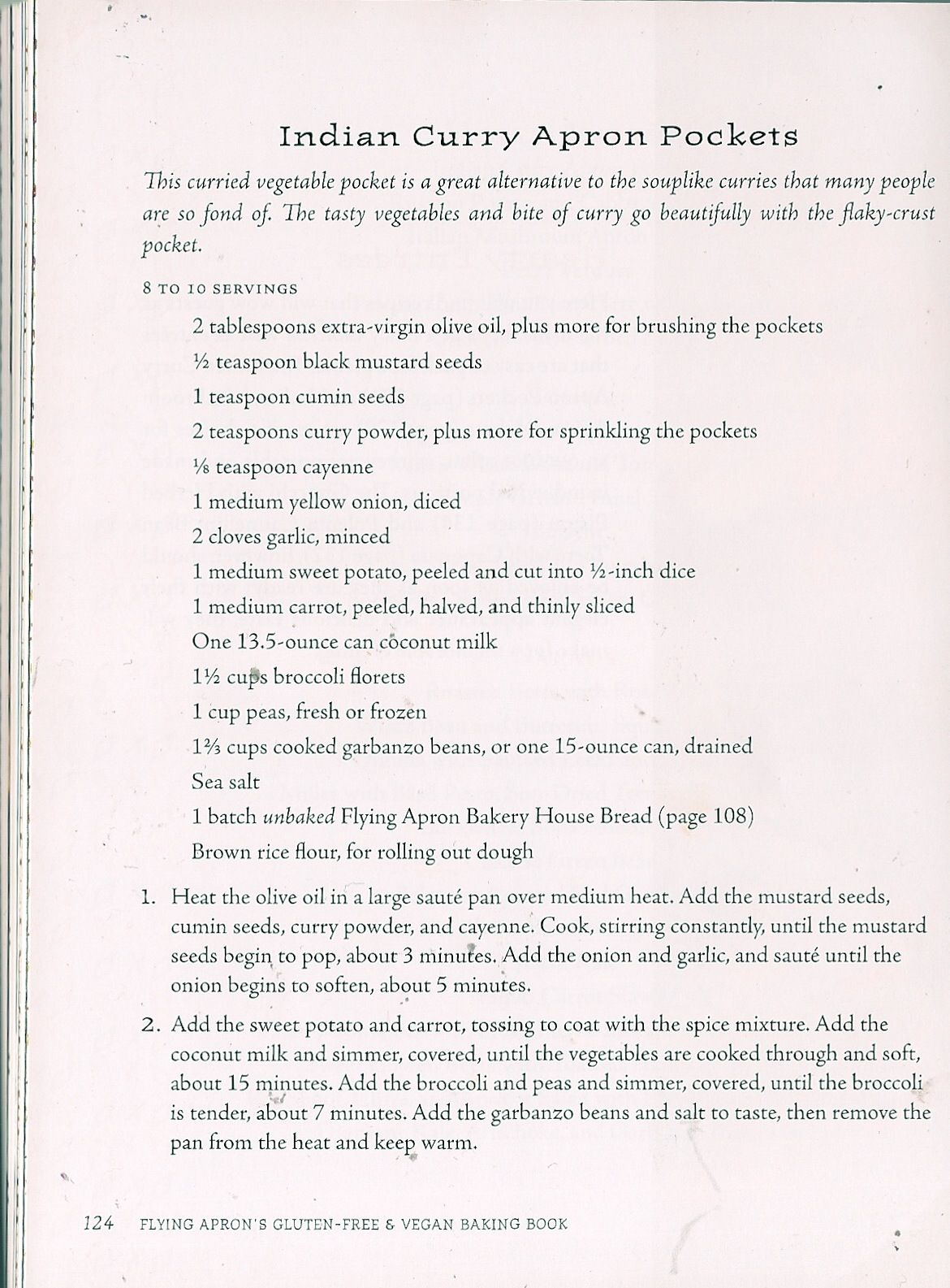 White apron gluten free