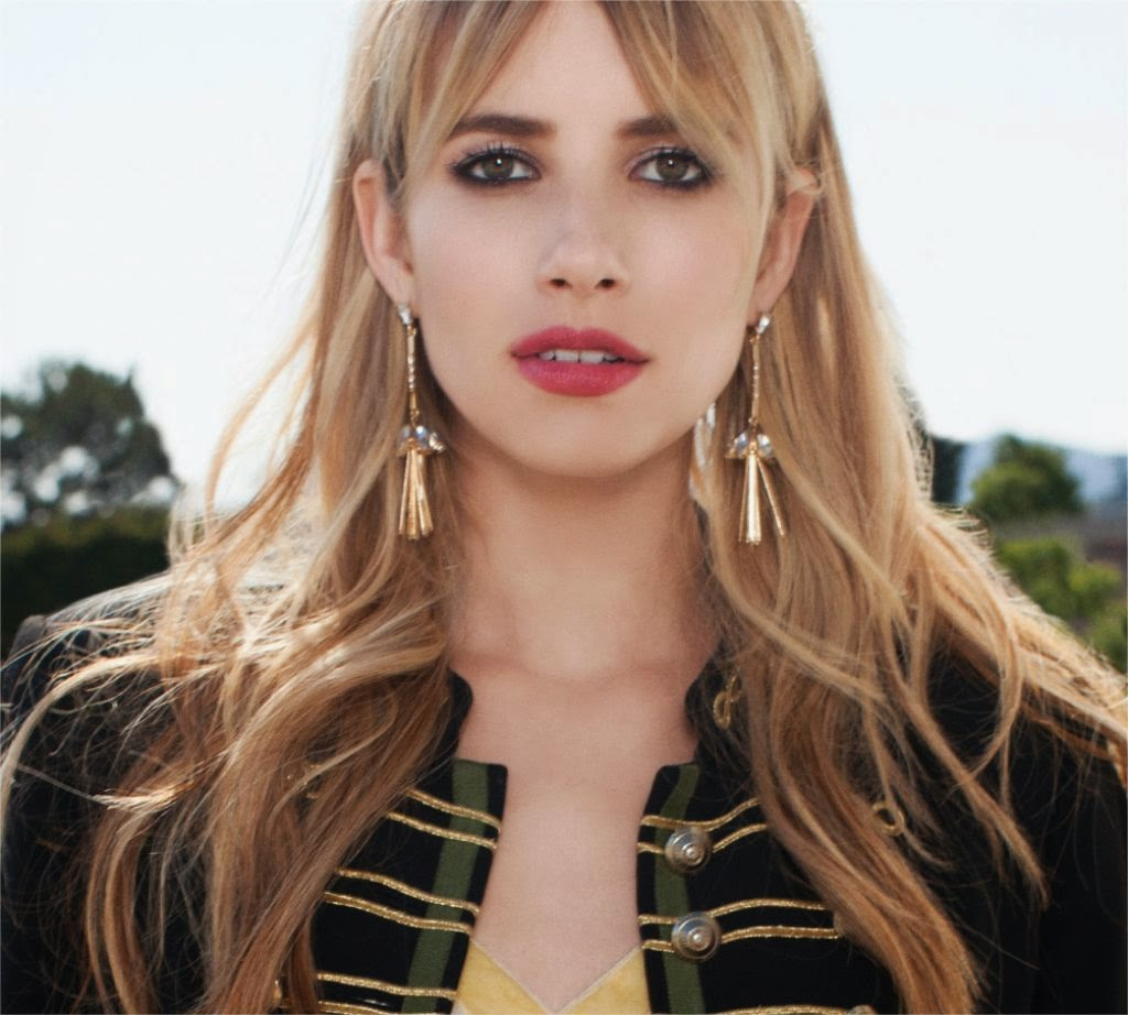 Emma Roberts stars for BaubleBar's Fall/Winter 2014 Campaign