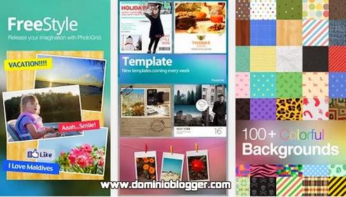 Realiza collages con tus fotos usando Photo Grid para Android
