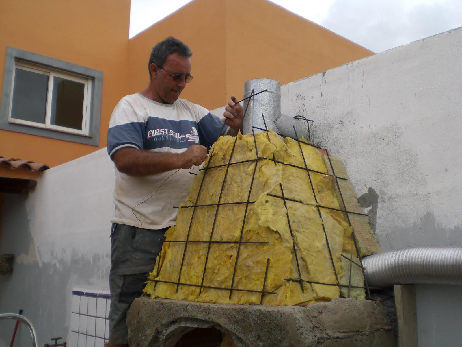 Pinturas pedro rguez lvarez barbacoa y horno de le a - Chimenea para barbacoa ...