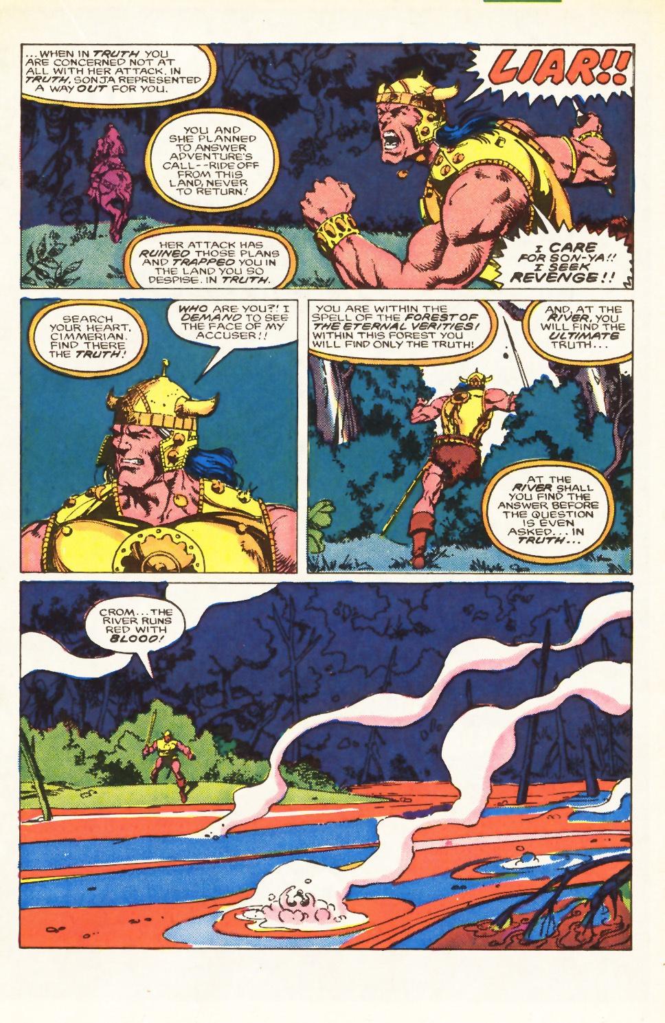 Conan the Barbarian (1970) Issue #198 #210 - English 14