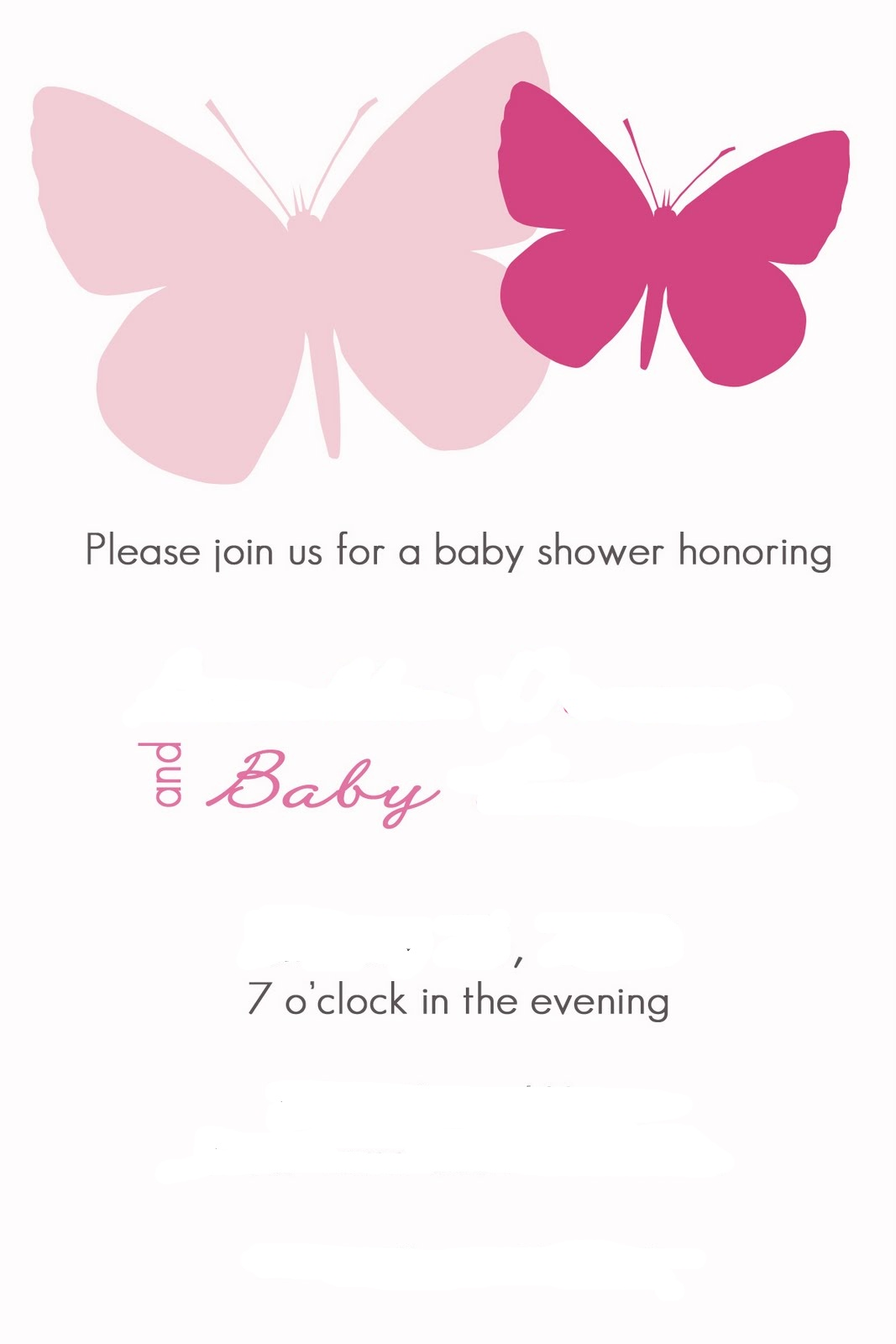 live laugh love crafts butterfly baby shower