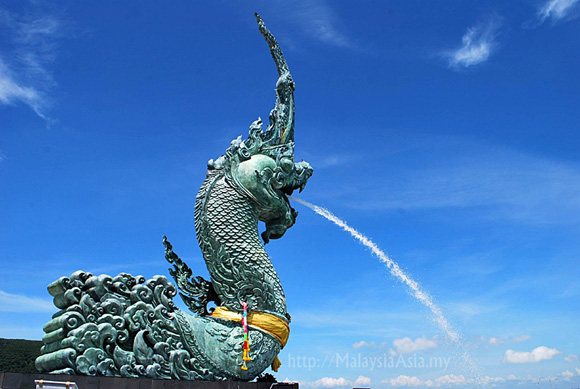 Great Serpent Nag in Songkhla Thailand