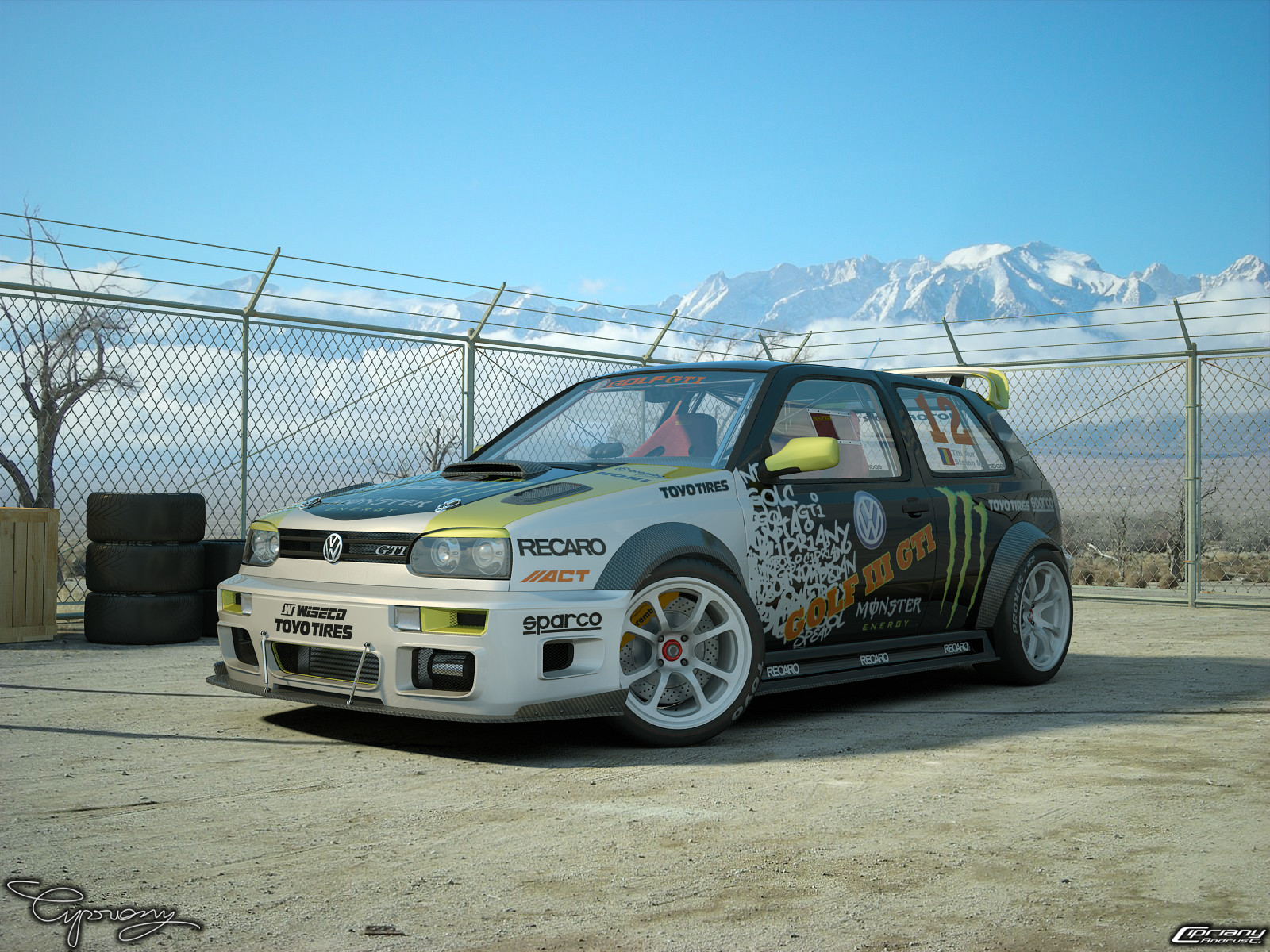 VW Golf 3 GTI 16V hobbi p  lyaaut