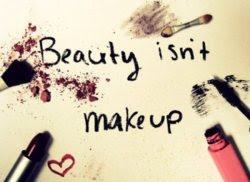 La belleza no es el maquillaje