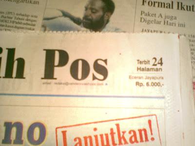 koran Papua
