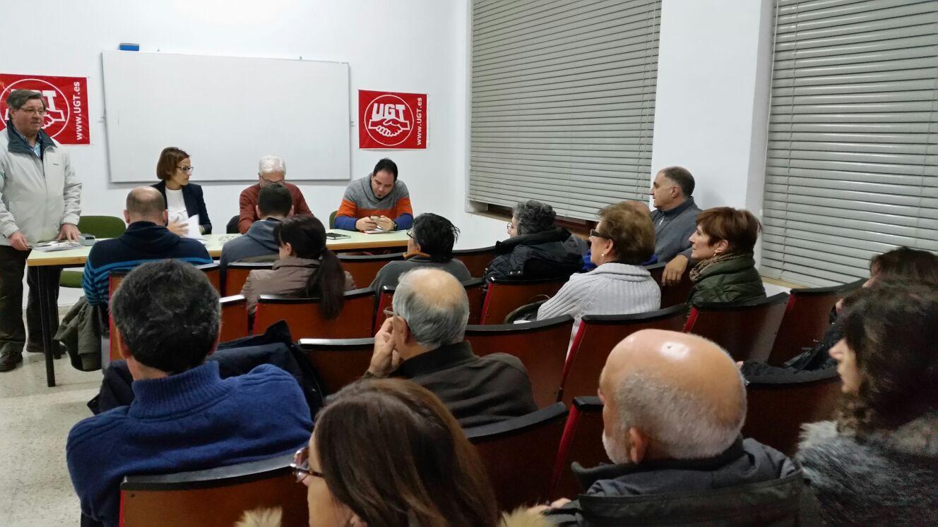 Asamblea Abierta PSN-PSOE en Estella