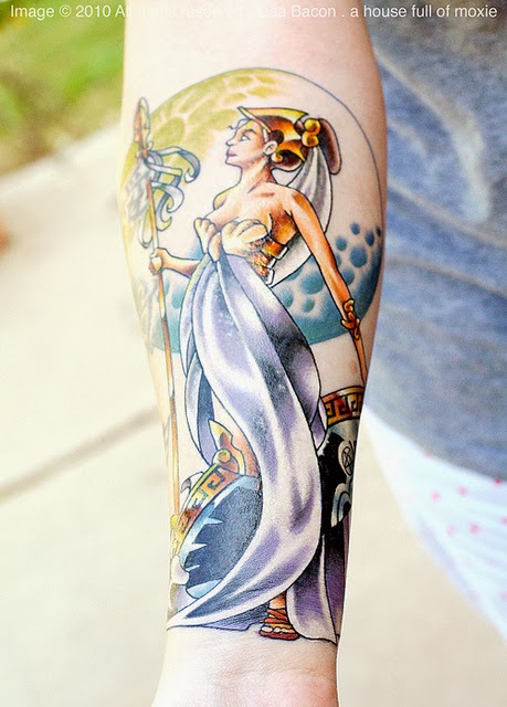 Athena Tattoo Athena Tattoo Art