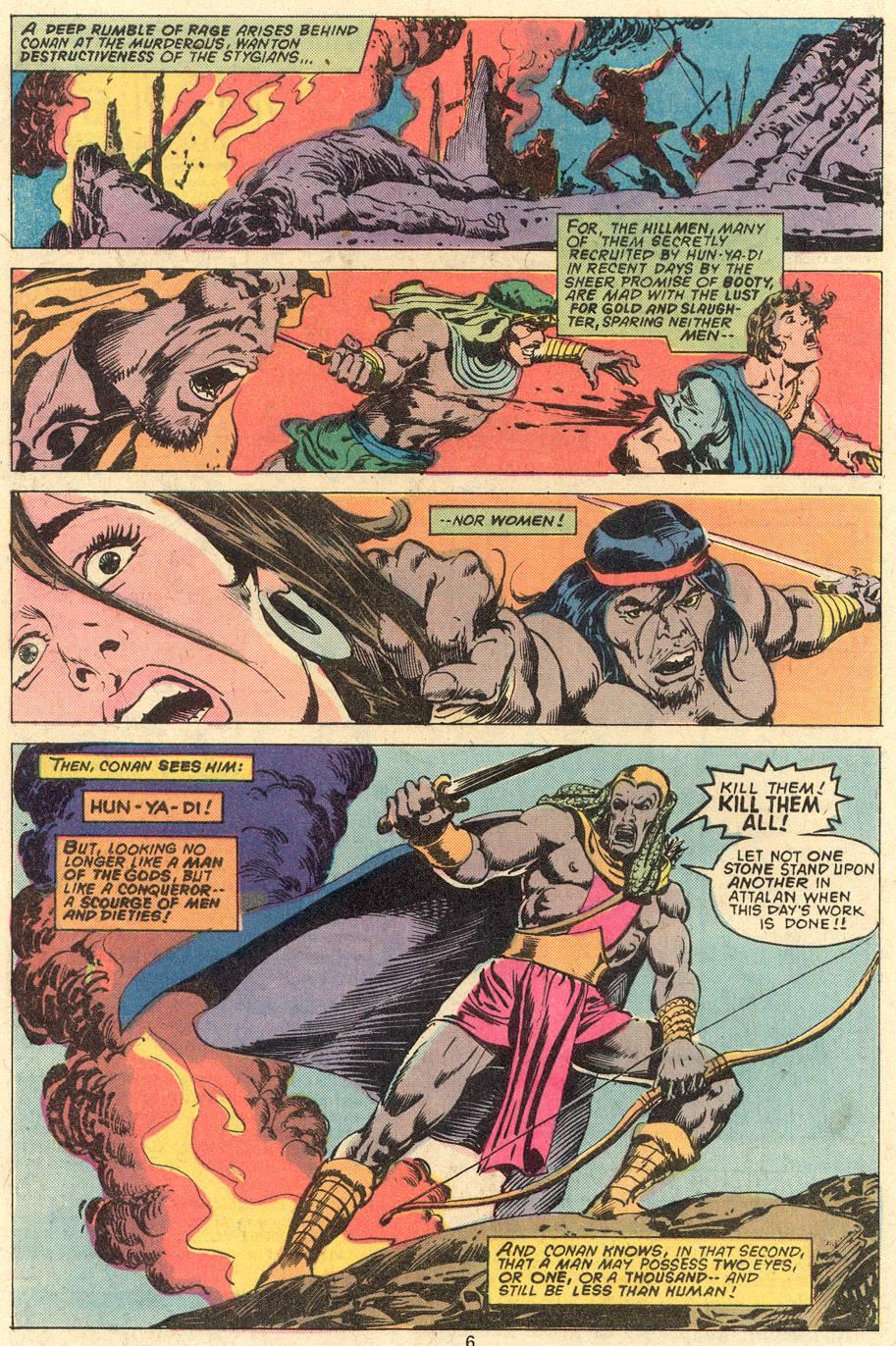 Conan the Barbarian (1970) Issue #81 #93 - English 5