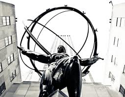 Atlas statue Rockefeller Center NYC