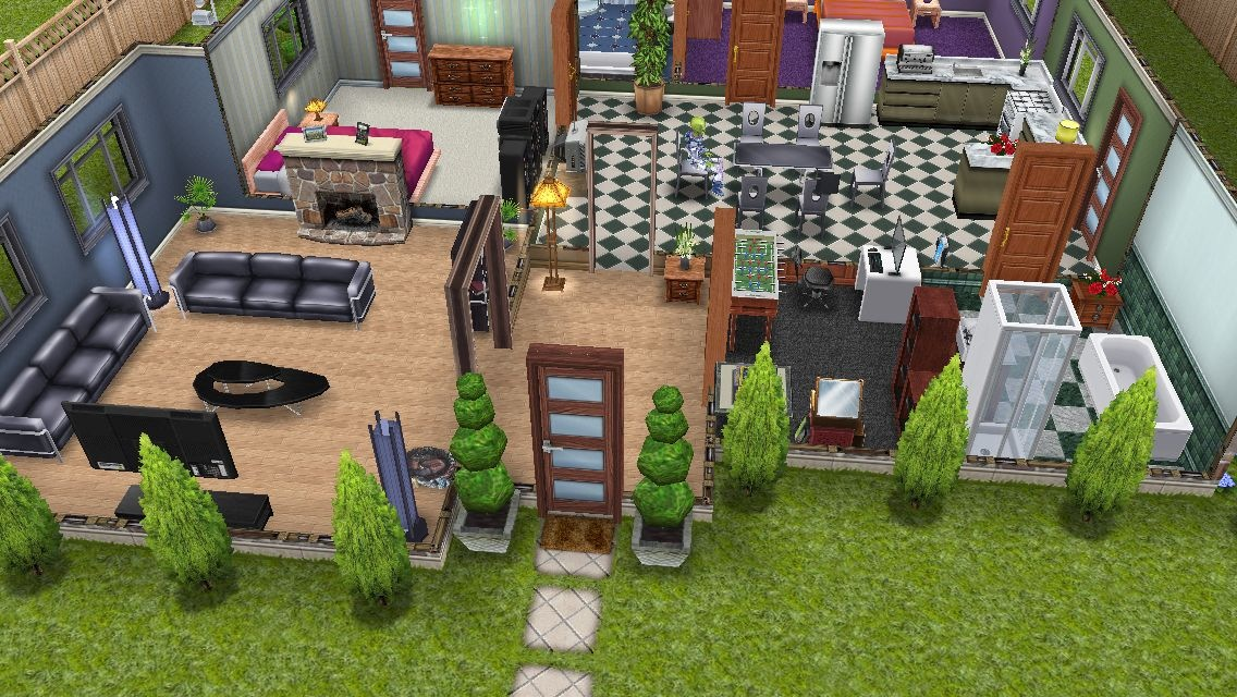 Casas sims mansion los sims freeplay for Casa de diseno sims freeplay