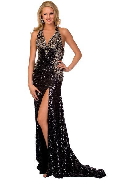 Silver Dresses for Beauty Pageants