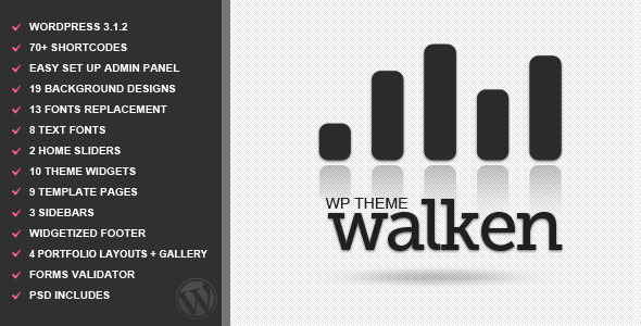 Walken Wordpress Theme Free Download by ThemeForest.