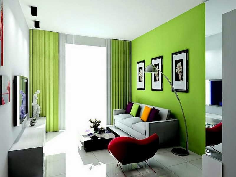 Soggiorno Verde Acido – minimis.co