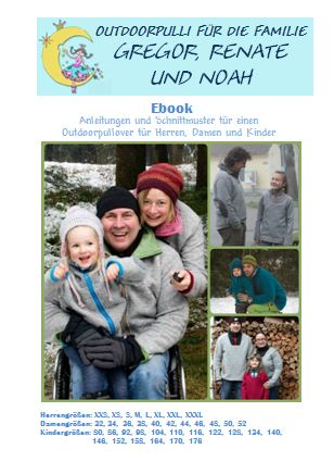 Outdoorpulli Gregor, Renate und Noah