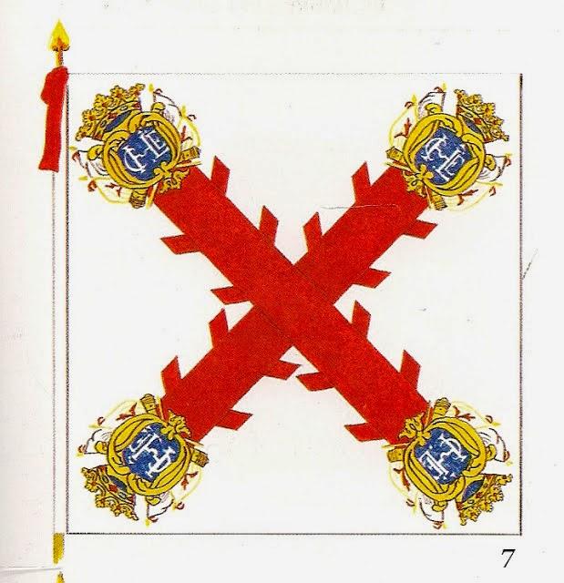 Bandera del Batallón de Infantería de Concepción