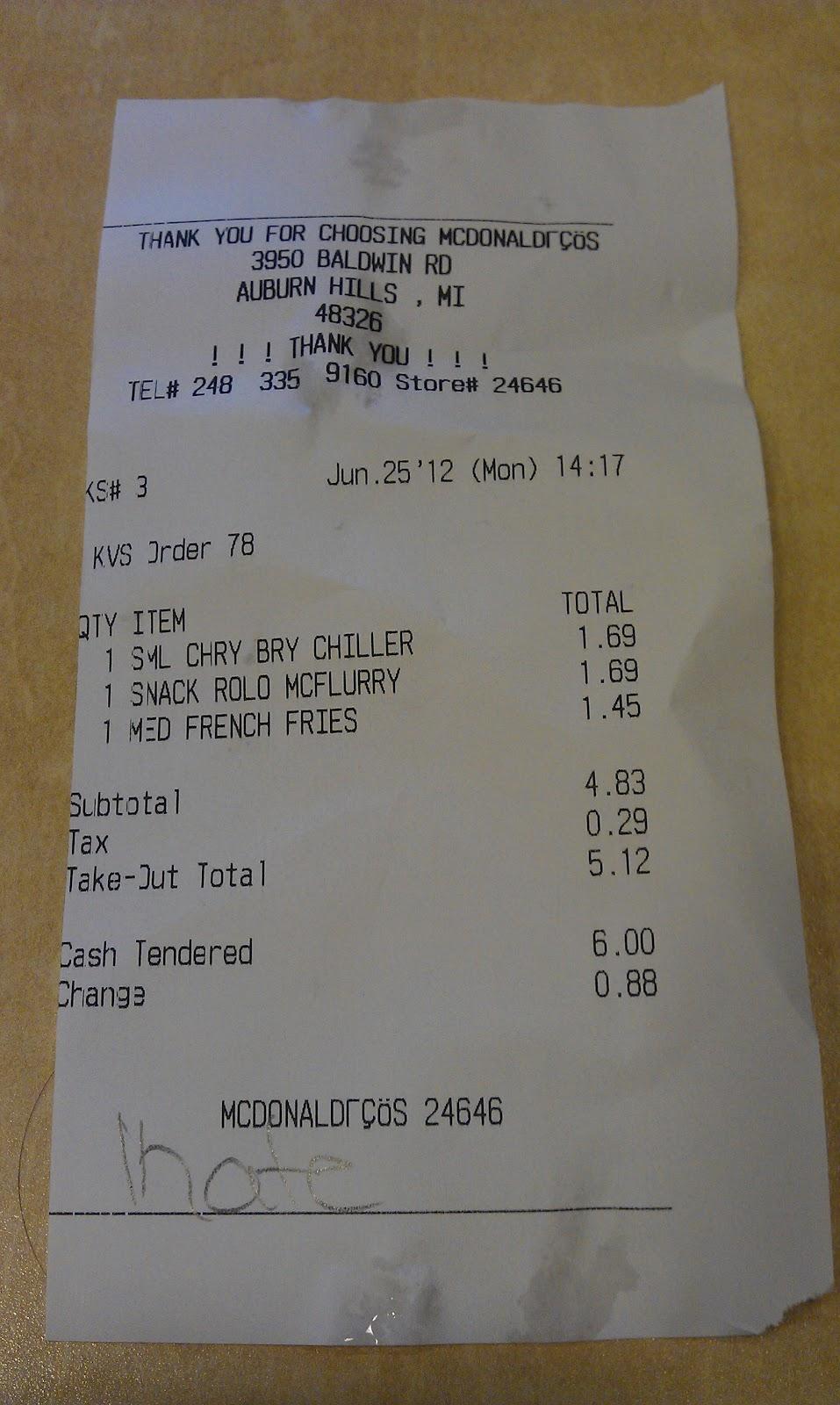 McDonald's Around the World: Cherry Berry Chiller & Rolo McFlurry ...