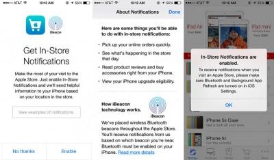 Apple Luncurkan Teknologi iBeacon di Ritelnya