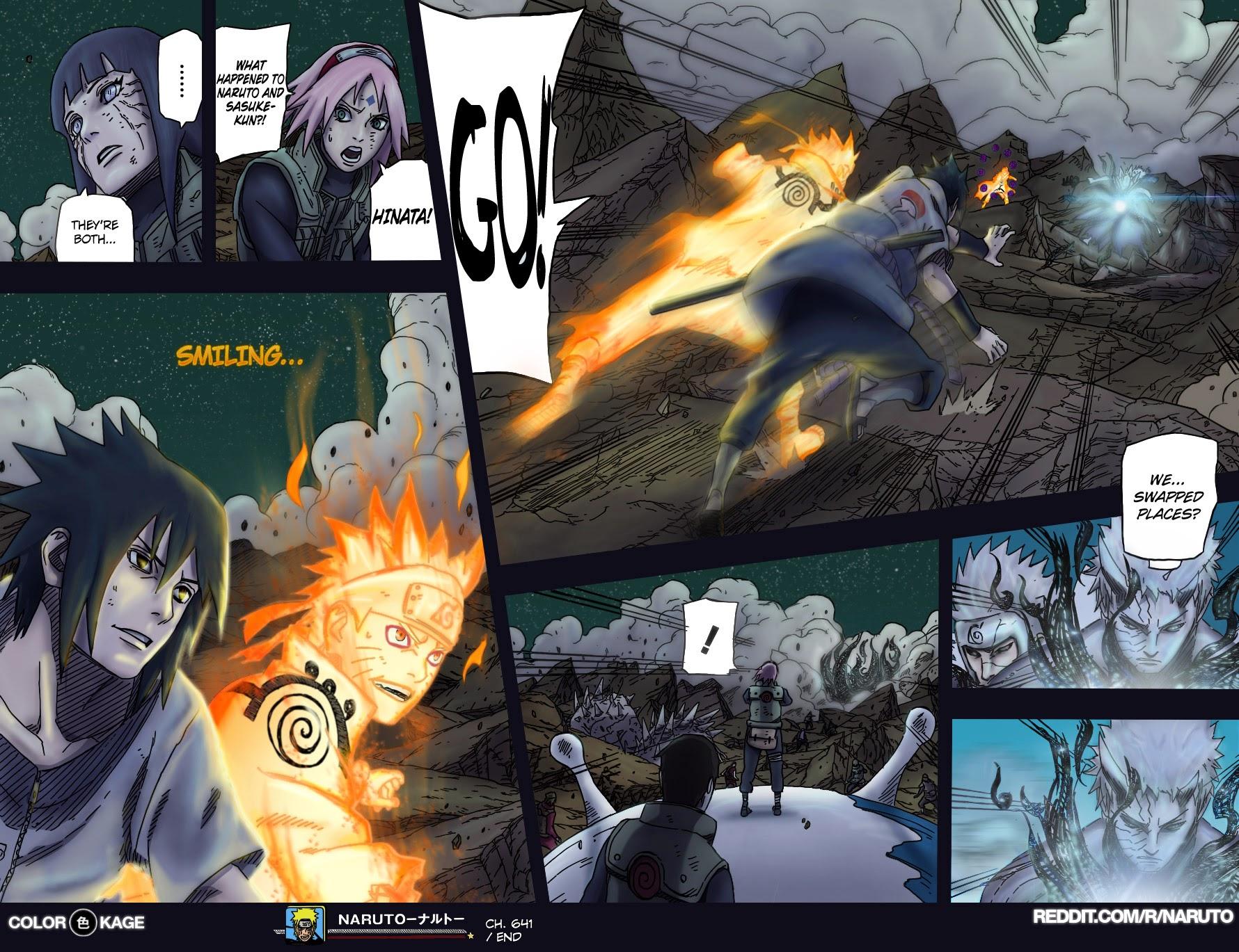 Naruto chap 651 Trang 18