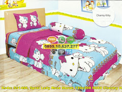 Harga Sprei Lady Rose Murah 120×200 Motif Charmy Kitty Jual