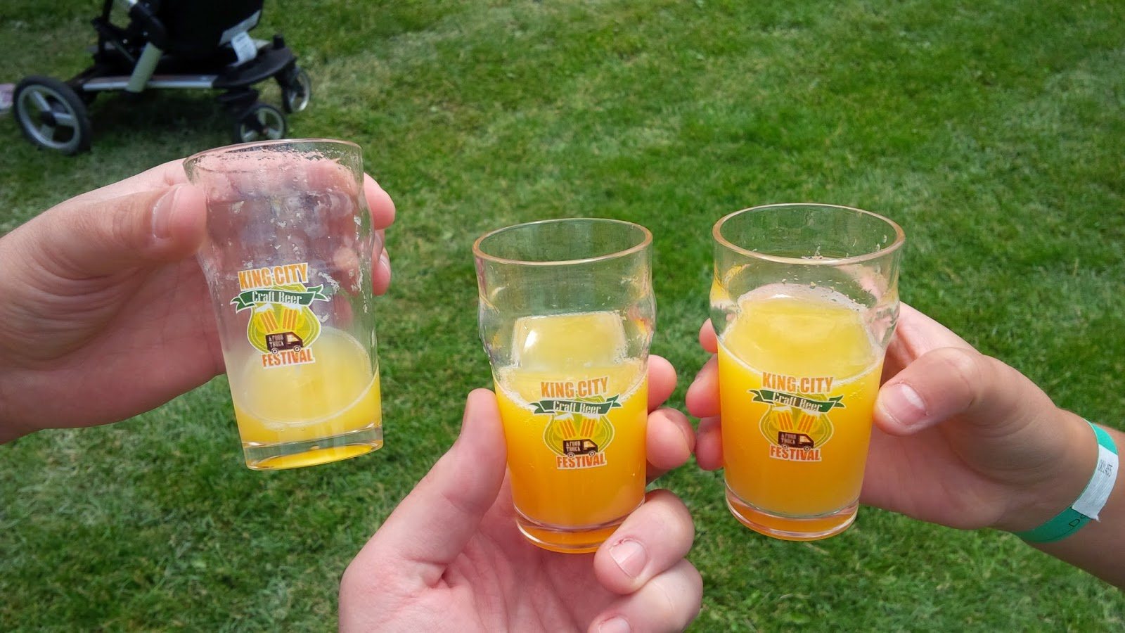 King city craft beer and food truck festival recap real for Craft beer and food