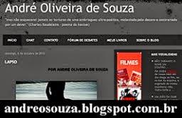 Escritor André Oliveira de Souza