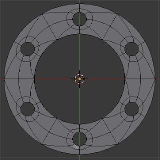 Buat face circle kecil dan  besar