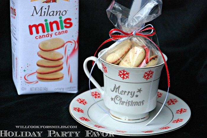 Entertaining with pepperidge farm cookies and party favors for Corporate christmas party gift ideas