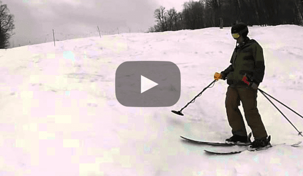 This is What Happens When You Bring a Metal Detector to a Ski Resort