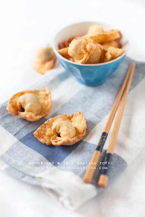 wonton fritti homemade