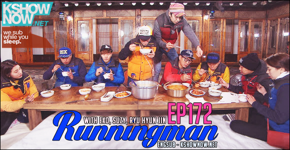 Running Man 172 Full Episode Kshownow Version Online Streaming