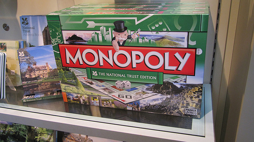 National Trust-branded Monopoly by HowardLake