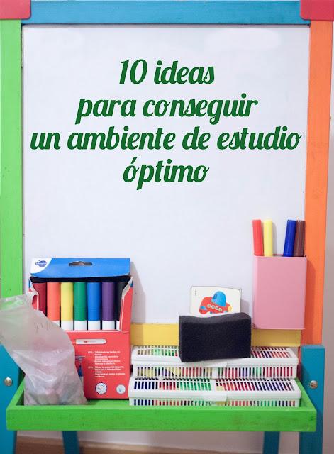 10 ideas para conseguir el ambiente de estudio óptimo en casa
