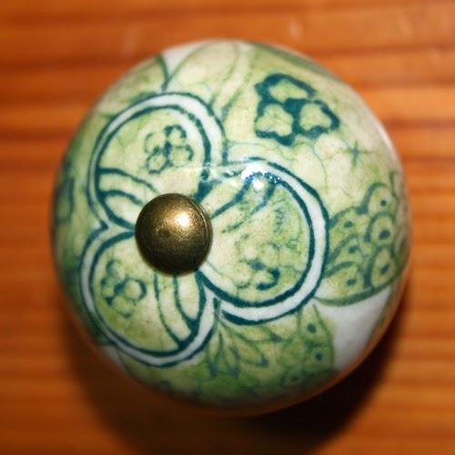ceramic door knob