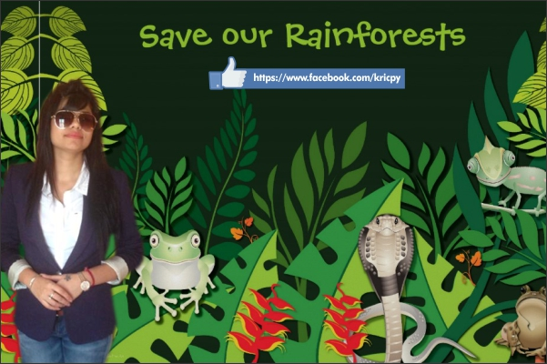 Kricpy Khera Save Our Rainforests
