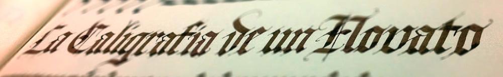 La caligrafía de un novato