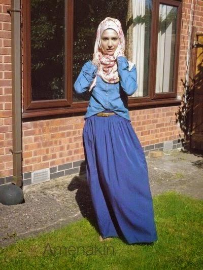 Hijab chic moderne
