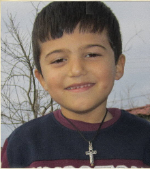 Domenik - Albania, Age 6