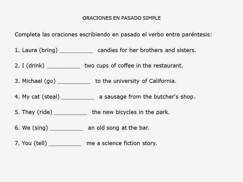 Presente Simple Continuo Ingles Ejercicios Dicas De Presente Para