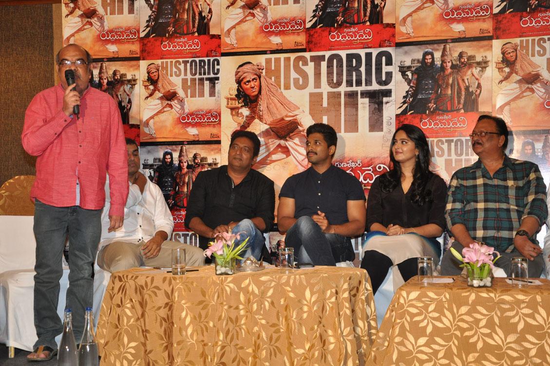 Rudramadevi movie success meet photos-HQ-Photo-17