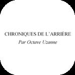Table des Chroniques de l'arrière 1914-1918