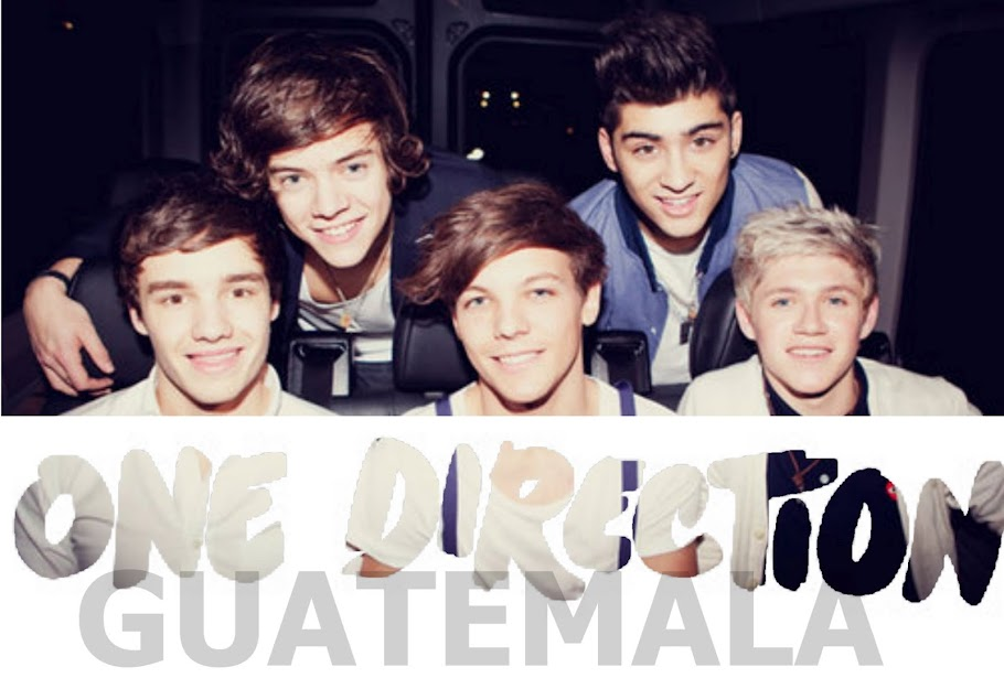 One Direction Guatemala.