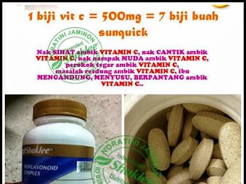 Manfaat Vitamin C Sustained Shaklee memang terbaik di dunia!