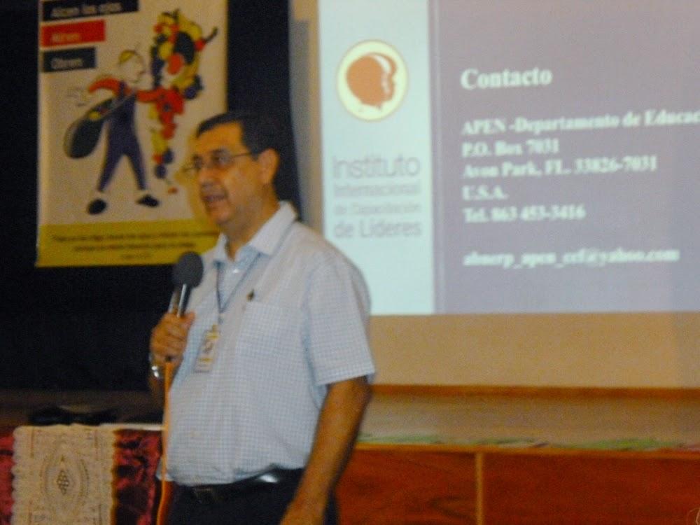 Abner Pineda - Director Regional de APEN