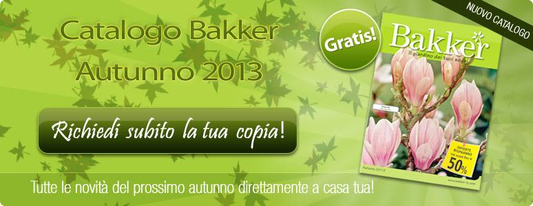 Promo risparmio bakker catalogo fiori e piante in omaggio for Catalogo piante e fiori