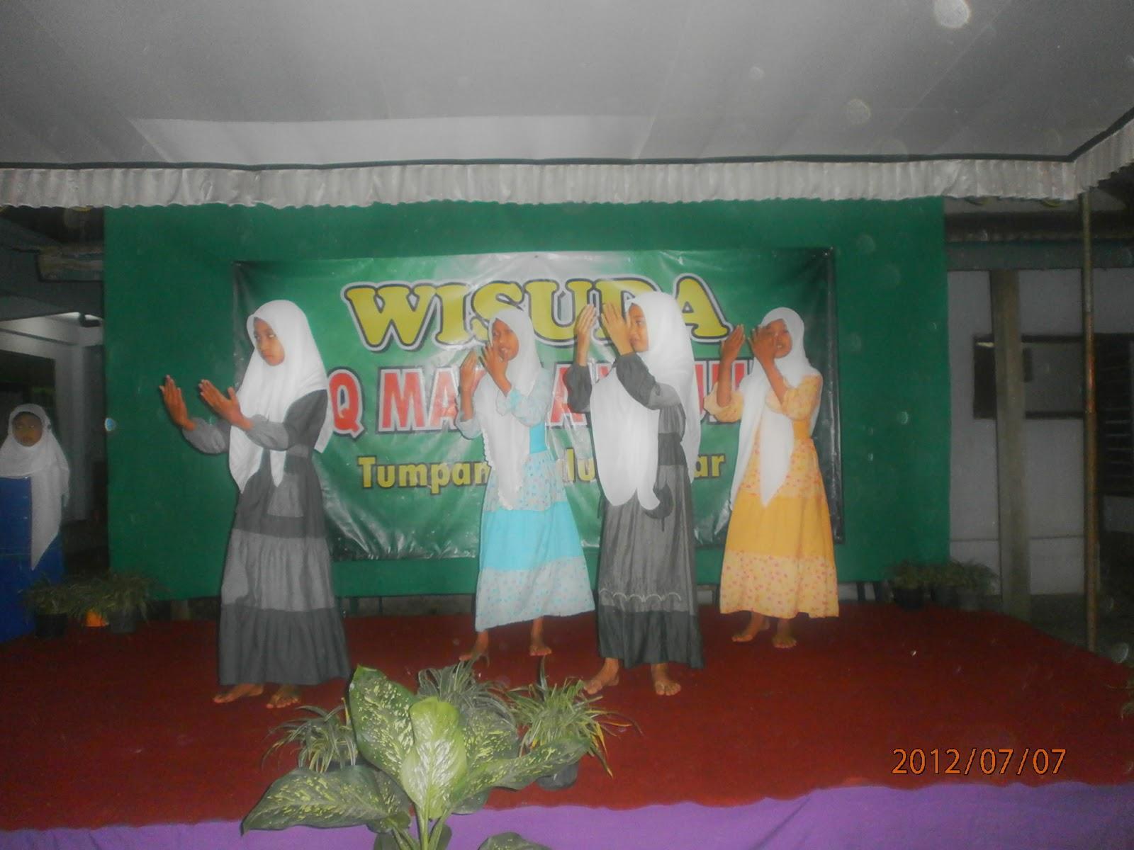 Foto Wisuda TPQ Matha'ul Ulum Tumpang Talun Blitar (2012)
