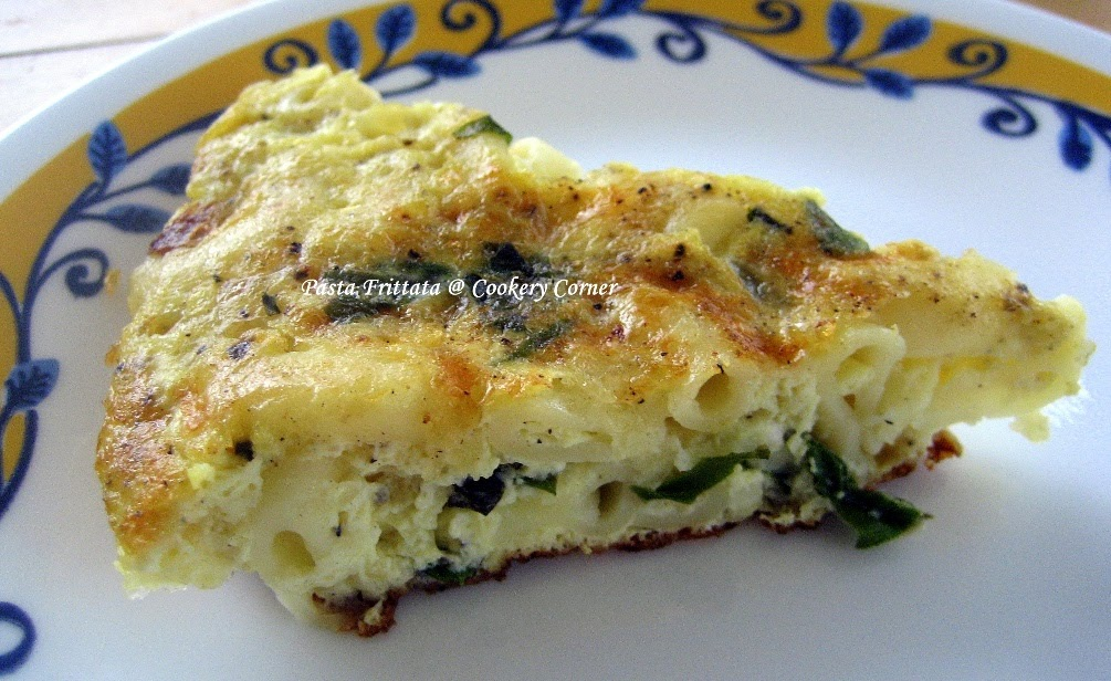 Cookery Corner: Pasta Frittata
