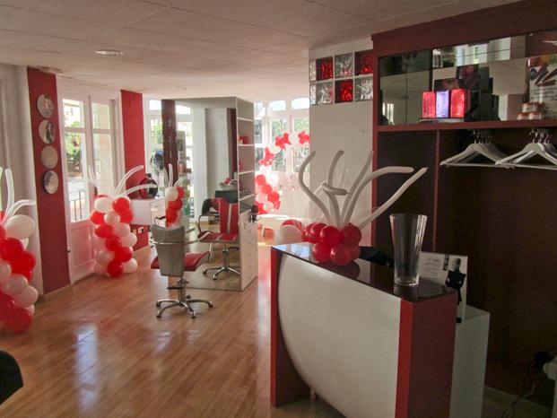 El mundo de ende decoracion inaguracion peluqueria - Decoracion para peluqueria ...