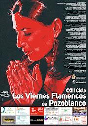 CARTEL 23º CICLO DE LOS VIERNES FLAMENCOS